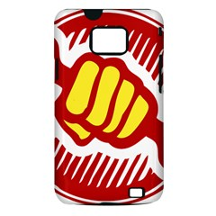 power to the people Samsung Galaxy S II Hardshell Case (PC+Silicone)