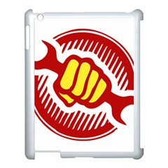 power to the people Apple iPad 3/4 Case (White)