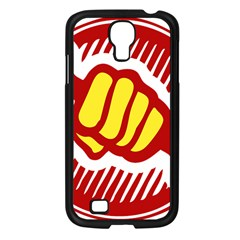power to the people Samsung Galaxy S4 I9500/ I9505 Case (Black)