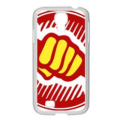 Power To The People Samsung Galaxy S4 I9500/ I9505 Case (white)