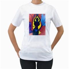 m Womens  T-shirt (White)