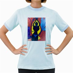 Bound Womens  Ringer T-shirt (Colored)