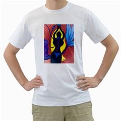 Bound Mens  T-shirt (White)