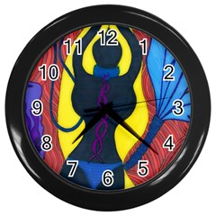 Bound Wall Clock (black)