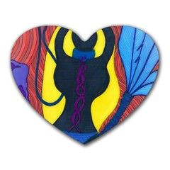 Bound Mouse Pad (Heart)