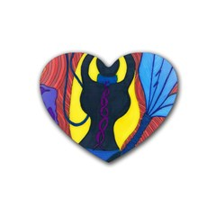 Bound Drink Coasters 4 Pack (heart)