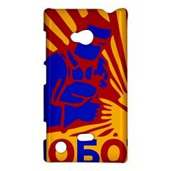 Soviet Robot Worker  Nokia Lumia 720 Hardshell Case