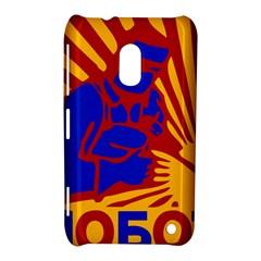 Soviet Robot Worker  Nokia Lumia 620 Hardshell Case