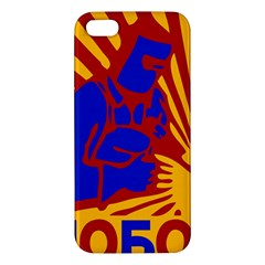 Soviet Robot Worker  iPhone 5S Premium Hardshell Case