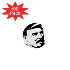 Lenin Portret 1  Mini Button Magnet (100 Pack)