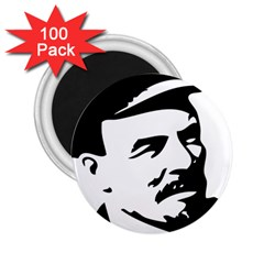 Lenin Portret 2 25  Button Magnet (100 Pack)