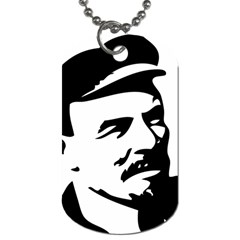 Lenin Portret Dog Tag (two Sided)