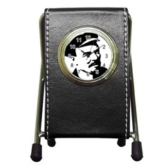 Lenin Portret Stationery Holder Clock