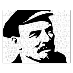 Lenin Portret Jigsaw Puzzle (rectangle)
