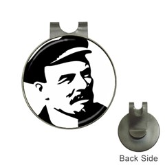 Lenin Portret Hat Clip with Golf Ball Marker