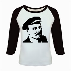 Lenin Portret Women s Long Cap Sleeve T-Shirt