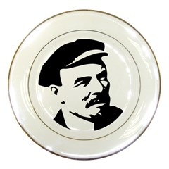 Lenin Portret Porcelain Display Plate
