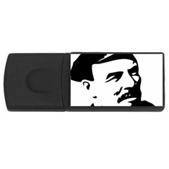 Lenin Portret 4GB USB Flash Drive (Rectangle)