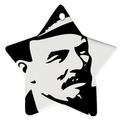 Lenin Portret Star Ornament (Two Sides)