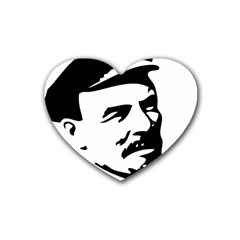 Lenin Portret Drink Coasters 4 Pack (heart)
