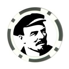 Lenin Portret Poker Chip