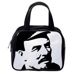 Lenin Portret Classic Handbag (One Side)