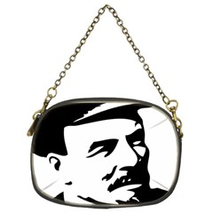 Lenin Portret Chain Purse (Two Sided)