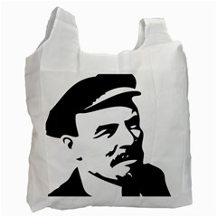 Lenin Portret Recycle Bag (Two Sides)