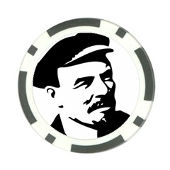 Lenin Portret Poker Chip 10 Pack