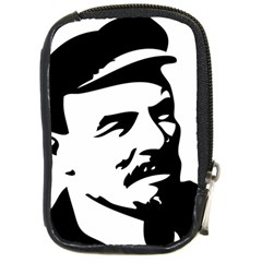 Lenin Portret Compact Camera Leather Case