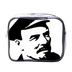 Lenin Portret Mini Travel Toiletry Bag (one Side)