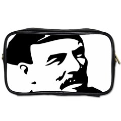 Lenin Portret Travel Toiletry Bag (Two Sides)