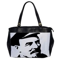 Lenin Portret Oversize Office Handbag (One Side)