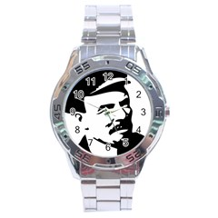 Lenin Portret Stainless Steel Watch (Men s)