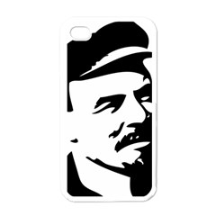 Lenin Portret Apple iPhone 4 Case (White)
