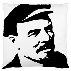 Lenin Portret Large Cushion Case (Single Sided)