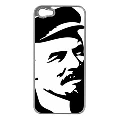 Lenin Portret Apple iPhone 5 Case (Silver)