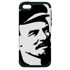 Lenin Portret Apple iPhone 5 Hardshell Case (PC+Silicone)