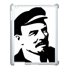 Lenin Portret Apple iPad 3/4 Case (White)