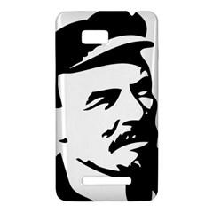 Lenin Portret HTC One SU T528W Hardshell Case