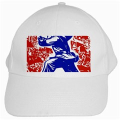 Communist Party Of China White Baseball Cap