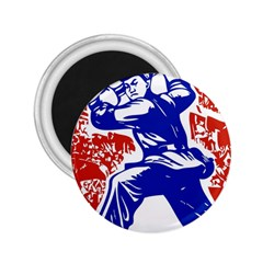 Communist Party Of China 2.25  Button Magnet