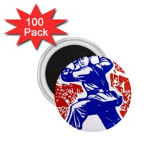 Communist Party Of China 1 75  Button Magnet (100 Pack)