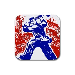 Communist Party Of China Drink Coaster (Square)