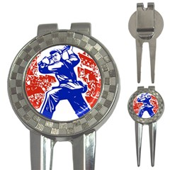 Communist Party Of China Golf Pitchfork & Ball Marker