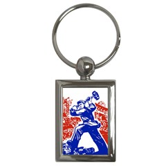 Communist Party Of China Key Chain (Rectangle)