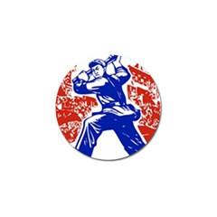 Communist Party Of China Golf Ball Marker