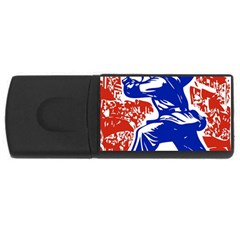 Communist Party Of China 2GB USB Flash Drive (Rectangle)