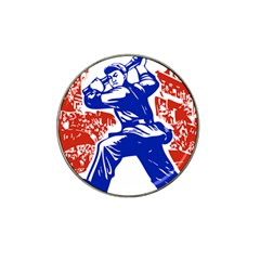 Communist Party Of China Golf Ball Marker (for Hat Clip)
