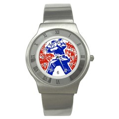 Communist Party Of China Stainless Steel Watch (unisex)